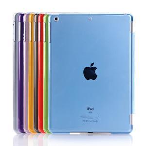 【レビュー記入で送料無料 メール便発送】 iPad Air / iPad5 裏面用透明ケース crystal Hook 全8色  【iPad Air iPad5 ケースSmart Cover Partner IPAD用】 create-discover