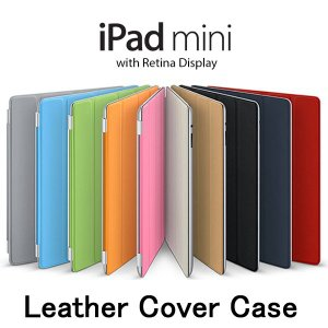 【レビュー記入で送料無料 メール便発送】 iPad mini / iPad mini 2 / iPad mini 3 / iPad mini Retina Smart Cover スリープ機能付け 全10色 (スマートケース) create-discover