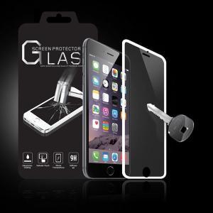 (レビュー記入で送料無料 メール便発送) iPhone 6 Plus / iPhone6s Plus 用液晶保護ガラスフィルム 全画面カバー (0.33mm iPhone6 plus 強化ガラス ケース)|create-discover|02