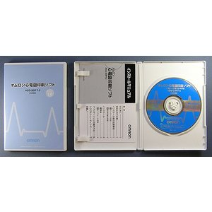 オムロン社製 携帯型心電計 HCG-801+オムロン社純正SDカード+印刷ソフトの3点セット! create 02