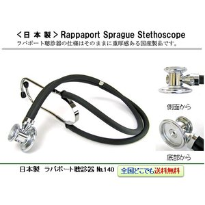 日本製(ケンツメディコ社) ラパポート聴診器 No.140|create