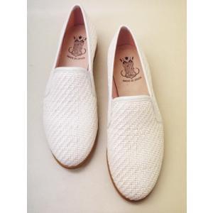 ボントレ BONTRE メッシュスリッポンシューズ 64901 WHITE レディース 靴|creation-shoes