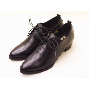 Marie Louise マリー・ルイーズ レースアップシューズ MLS-57L(BLACK) レディース|creation-shoes