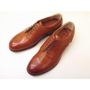 ショセ chausser メンズ プレーントウダービー C-7013 BROWN men's 靴 creation-shoes