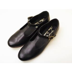 マリー・ルイーズ Marie Louise Tストラップシューズ MLS-59L BLACK レディース 靴|creation-shoes