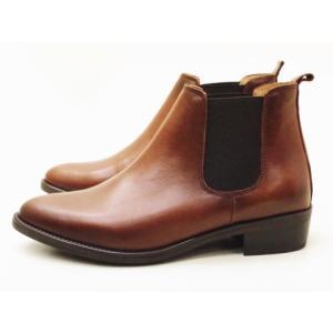 ボントレ BONTRE ブーツ 59775 BROWN レディース サイドゴアブーツ|creation-shoes
