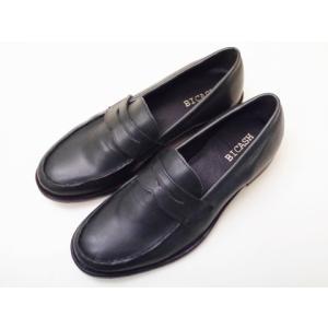 BICASH ビカーシ コインローファー No.008(DARK NAVY) Men's|creation-shoes