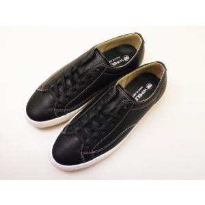 ウィンブルドン WIMBLEDON スニーカー WB005 BLACK レディース メンズ 日本製 靴 creation-shoes