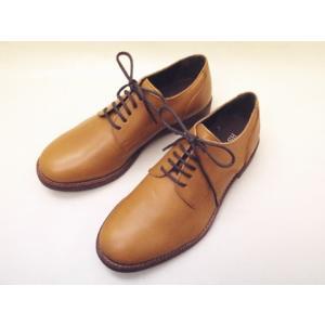 BICASH ビカーシ プレーントウダービー No,001 CAMEL メンズシューズ|creation-shoes