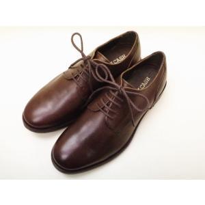 BICASH ビカーシ プレーントウダービー No.001 ダークブラウン MEN'S SHOES|creation-shoes