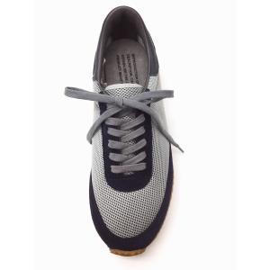 カナディアントレーナー 1000FSL グレー×ネイビー REPRODUCTION OF FOUND ミリタリースニーカー creation-shoes