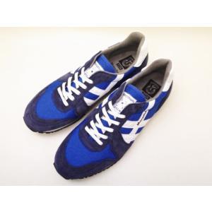 ZDA スニーカー 2000FS NAVY ネイビー レディース メンズ マラソンマン|creation-shoes