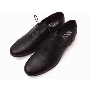 トラベルシューズバイショセ MEN'S ストレートチップシューズ TR-001M ブラック BLACK メンズ|creation-shoes