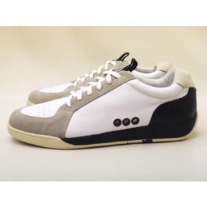 OSKLEN オスクレン メンズスニーカー Gray/White/Black  MEN'Sレザースニーカー|creation-shoes