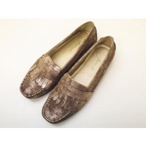 gaimo ガイモ キルティモカシン KOLI ゴールド GOLD レディース 靴 creation-shoes