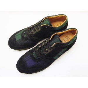 ブリティッシュトレーナー 1800BMP (TARTAN BLACK/ブラックウォッチ) REPRODUCTION OF FOUND ミリタリースニーカー creation-shoes