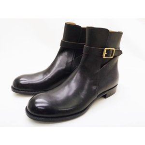 ショセ chausser 靴 メンズブーツ C-7025 ブラック BLACK ジョッパーブーツ creation-shoes