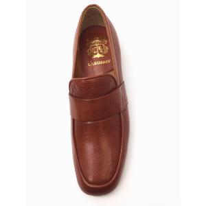 ショセ chausser 靴 レディース ローファー C-2257 BROWN(ブラウン) スリッポン creation-shoes