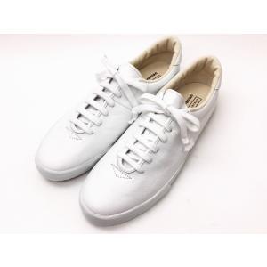 """【マカロニアン】×【ビオホテルジャパン】スニーカー """"0039L BIO""""ホワイト メンズ&レディース creation-shoes"""