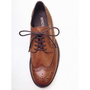 BICASH ビカーシ ウイングチップシューズ No.089 BROWN ブラウン MEN'S 靴|creation-shoes