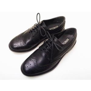 BICASH ビカーシ ウイングチップシューズ No.089 BLACK ブラック MEN'S 靴|creation-shoes