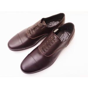 トラベルシューズバイショセ MEN'S ストレートチップシューズ TR-001M ダークブラウン DARK BROWN|creation-shoes
