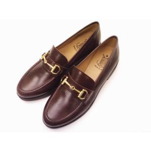 ボントレ BONTRE #86853 DARK BROWN レディース ビットローファー|creation-shoes