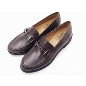 ボントレ BONTRE #86853 グレー GRAY レディース ビットローファー|creation-shoes