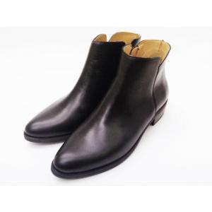ボントレ BONTRE ブーツ #87851 ブラック BLACK レディース サイドジップブーツ|creation-shoes