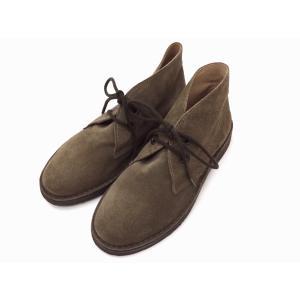 ガイモ gaimo レディース チャッカーブーツ DARK BEIGE スエード 靴 creation-shoes