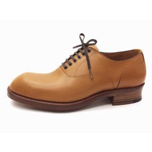 ショセ chausser MEN'S オックスフォードシューズ C-7030 CAMEL メンズ 靴 creation-shoes