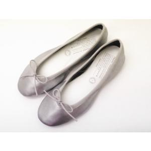 トラベルシューズバイショセ TR-009 バレエシューズ SILVER シルバー 靴 レディース|creation-shoes