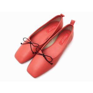 ビュール・エ・ポップ BULLE & POP バレエシューズ OR(コーラルピンク) 靴 レディース creation-shoes