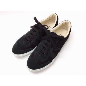 """【マカロニアン】×【ビオホテルジャパン】スニーカー """"2039FS BIO"""" ブラック BLACK メンズ&レディース creation-shoes"""