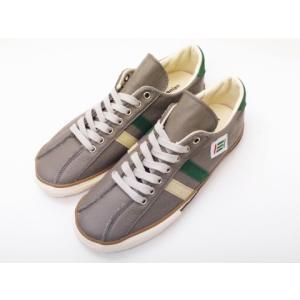 maccheronian マカロニアン メンズ レディース スニーカー 2215L(GRAY/BEIGE/GREEN) 靴 creation-shoes