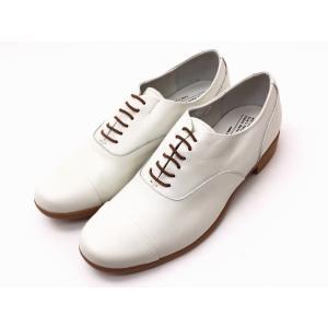 トラベルシューズバイショセ TR-001 ホワイト/ライトブラウン WHT/LBR レディース 靴|creation-shoes
