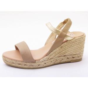 ガイモ gaimo サンダル GAEL-NJ ベージュ BEIGE バイカラーヒールサンダル creation-shoes