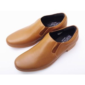 トラベルシューズバイショセ MEN'S スリッポン TR-003M LBR ライトブラウン 靴 メンズ|creation-shoes