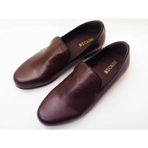 ビカーシ BICASH オペラスリッポン No.049 ダークブラウン MEN'S 靴|creation-shoes