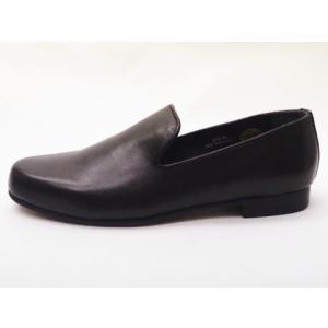 ビカーシ BICASH オペラスリッポン No.049 BLACK ブラック MEN'S 靴|creation-shoes