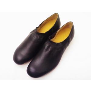 スペースクラフト SC395 BLACK すべり止め加工済み レディース スリッポン 靴 SpaceCraft|creation-shoes