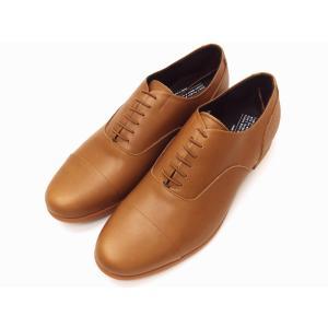トラベルシューズバイショセ MEN'S ストレートチップシューズ TR-001M ブラウン BROWN 靴 メンズ|creation-shoes
