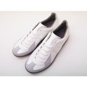 ジャーマントレーナー German Trainer レザースニーカー 1183 ホワイト WHITE メンズ&レディース 白|creation-shoes