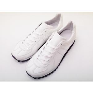 ジャーマントレーナー MARATHON 3183AL ホワイト WHITE【税込定価¥26,400】メンズ&レディース|creation-shoes
