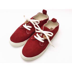 buddy バディ スニーカー Corgi Low (RED) メンズ レディース|creation-shoes