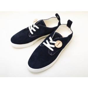 buddy バディ スニーカー Corgi Low (NAVY) メンズ レディース|creation-shoes