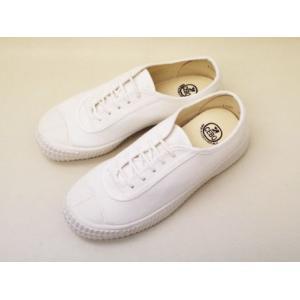 CEBO セボ キャンバススニーカー 671F(WHITE) UNISEX creation-shoes
