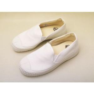 CEBO セボ キャンバススニーカー 430F(WHITE) スリッポン UNISEX creation-shoes