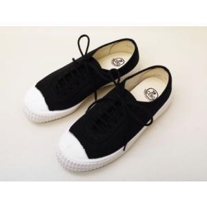 CEBO セボ キャンバススニーカー 671F(BLACK) UNISEX creation-shoes