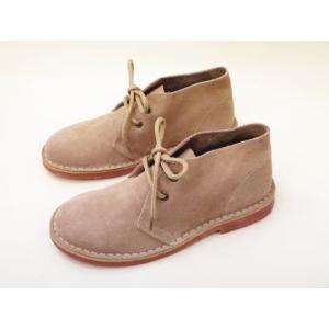 CALIDAD カリダッド デザートブーツ No.8001(ピンクベージュ) Ladies'|creation-shoes